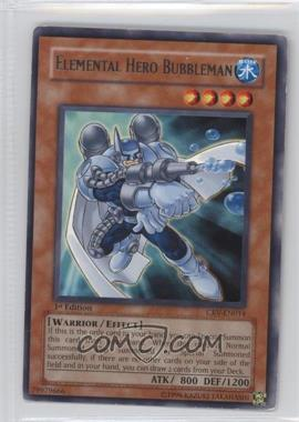 2005 Yu-Gi-Oh! Cybernetic Revolution - Booster Pack [Base] - 1st Edition #CRV-EN014.1 - Elemental HERO Bubbleman (Rare)