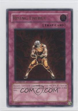 2005 Yu-Gi-Oh! Cybernetic Revolution - Booster Pack [Base] - 1st Edition #CRV-EN056.2 - Rising Energy (Ultimate Rare)