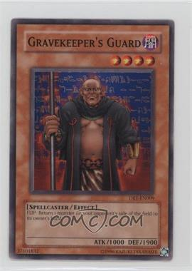 2005 Yu-Gi-Oh! Dark Revelation Volume 1 - Booster Pack [Base] #DR1-EN009 - Gravekeeper's Guard