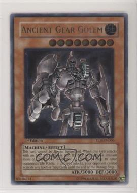 2005 Yu-Gi-Oh! The Lost Millenium - Booster Pack [Base] - 1st Edition #TLM-EN006 - Ancient Gear Golem