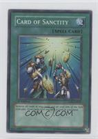 Card of Sanctity [Noted]