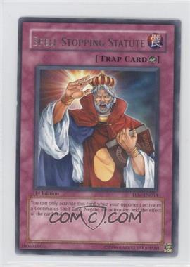 2005 Yu-Gi-Oh! The Lost Millenium - Booster Pack [Base] - 1st Edition #TLM-EN058.1 - Spell-Stopping Statute