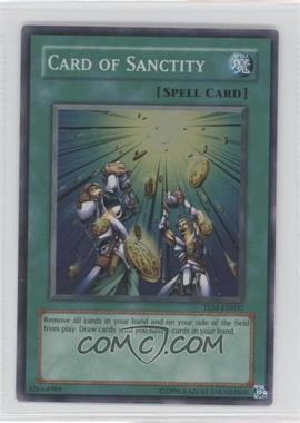 2005 Yu-Gi-Oh! The Lost Millenium - Booster Pack [Base] - Unlimited #TLM-EN037.1 - Card of Sanctity (Super Rare)
