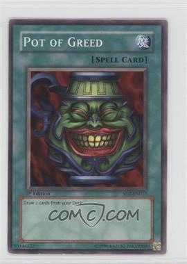 2005 Yu-Gi-Oh! Zombie Madness - Structure Deck [Base] - 1st Edition #SD2-EN017 - Pot of Greed