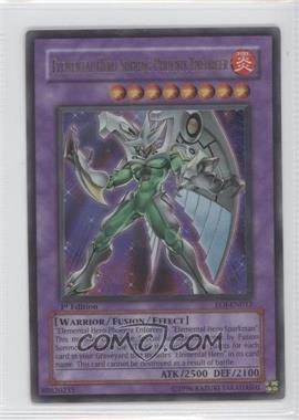 2006 Yu-Gi-Oh! Enemy of Justice - Booster Pack [Base] - 1st Edition #EOJ-EN033.1 - Elemental HERO Shining Phoenix Enforcer