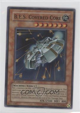 2006 Yu-Gi-Oh! Shadow of Infinity - Booster Pack [Base] - 1st Edition #SOI-EN013.1 - B.E.S. Covered Core (Super Rare)