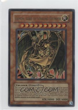 2006 Yu-Gi-Oh! Shadow of Infinity - Booster Pack [Base] - Unlimited #SOI-EN002 - Hamon, Lord of Striking Thunder