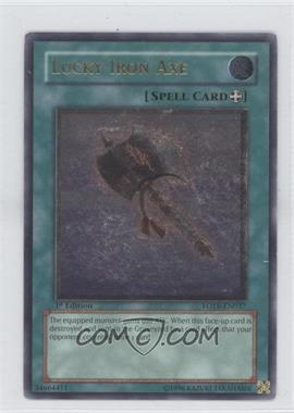 2007 Yu-Gi-Oh! Force of the Breaker - Booster Pack [Base] - 1st Edition #FOTB-EN037.2 - Lucky Iron Axe (Ultimate Rare)