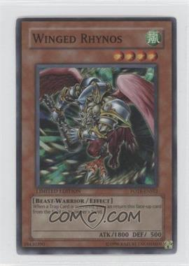 2007 Yu-Gi-Oh! Force of the Breaker - Limited Edition Promos #FOTB-ENSE2 - Winged Rhynos (Special Edition)