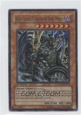 2007 Yu-Gi-Oh! Strike of the Neos - Booster Pack [Base] - 1st Edition #STON-EN017.1 - Reign-Beaux, Overlord of Dark World (Ultra Rare)