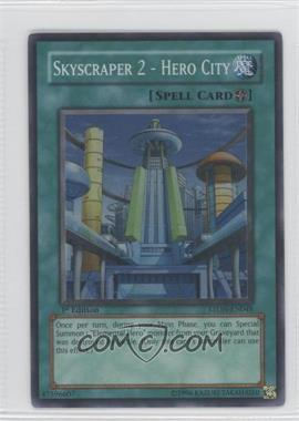 2007 Yu-Gi-Oh! Strike of the Neos - Booster Pack [Base] - 1st Edition #STON-EN048.1 - Skyscraper 2 - Hero City (Super Rare)