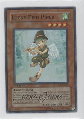2007 Yu-Gi-Oh! Tactical Evolution - Booster Pack [Base] - 1st Edition #TAEV-EN021 - Lucky Pied Piper