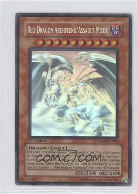 2008 Yu-Gi-Oh! Crimson Crisis - Booster Pack [Base] - 1st Edition #CRMS-EN004 - Red Dragon Archfiend/Assault Mode