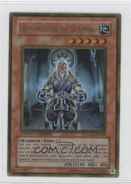 2008 Yu-Gi-Oh! Gold Series 1 - Limited Edition Box Collection #GLD1-EN026 - Grandmaster of the Six Samurai
