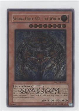 2008 Yu-Gi-Oh! Light of Destruction - Booster Pack [Base] - Unlimited #LODT-EN016.2 - Arcana Force XXI - The World (Ultimate Rare)