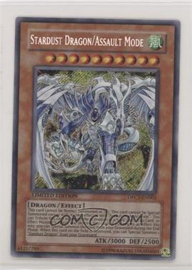 2009 Yu-Gi-Oh! - Duelist Pack Collection Tin Limited Edition Promos #DPCT-EN003.1 - Stardust Dragon/Assault Mode (Green Tin/Secret Rare)