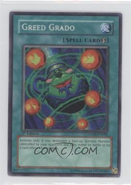 2009 Yu-Gi-Oh! Ancient Prophecy - Booster Pack [Base] - 1st Edition #ANPR-EN088 - Greed Grado (Secret Rare)