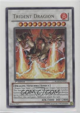 2009 Yu-Gi-Oh! Raging Battles - Booster Pack [Base] - 1st Edition #RGBT-EN043 - Trident Dragion