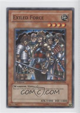 2009 Yu-Gi-Oh! Warriors' Strike - Structure Deck [Base] - 1st Edition #SDWS-EN008 - Exiled Force