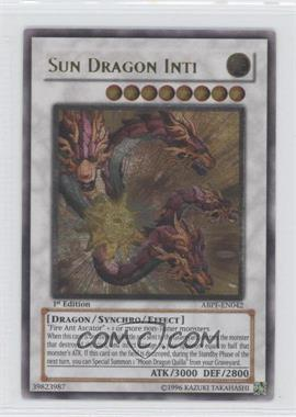2010 Yu-Gi-Oh! Absolute Powerforce - Booster Pack [Base] - 1st Edition #ABPF-EN042.1 - Sun Dragon Inti (Ultimate Rare)