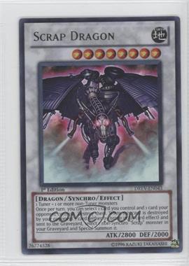 2010 Yu-Gi-Oh! Duelist Revolution - Booster Pack [Base] - 1st Edition #DREV-EN043 - Scrap Dragon (Super Rare)