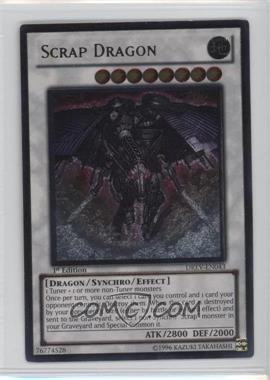 2010 Yu-Gi-Oh! Duelist Revolution - Booster Pack [Base] - 1st Edition #DREV-EN043.2 - Scrap Dragon (Ultimate Rare)
