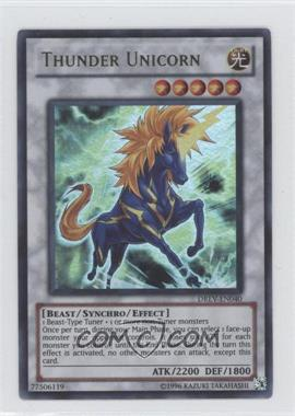2010 Yu-Gi-Oh! Duelist Revolution - Booster Pack [Base] - Unlimited #DREV-EN040.1 - Thunder Unicorn (Ultra Rare)