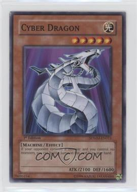 2010 Yu-Gi-Oh! Machina Mayhem - Structure Deck [Base] - 1st Edition #SDMM-EN013 - Cyber Dragon