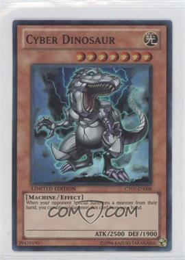 2010 Yu-Gi-Oh! Series 7 - Collectors Tins Limited Edition Promos #CT7-EN008 - Cyber Dinosaur