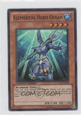2010 Yu-Gi-Oh! Series 7 - Collectors Tins Limited Edition Promos #CT7-EN018 - Elemental HERO Ocean