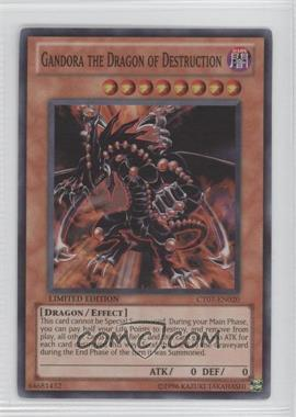 2010 Yu-Gi-Oh! Series 7 - Collectors Tins Limited Edition Promos #CT7-EN020 - Gandora the Dragon of Destruction