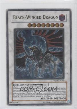 2010 Yu-Gi-Oh! The Shining Darkness - Booster Pack [Base] - Unlimited #TSHD-EN040.2 - Black-Winged Dragon (Ultimate Rare)