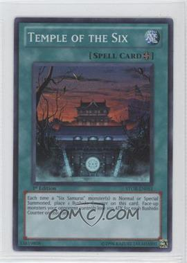 2011 Yu-Gi-Oh! Storm of Ragnarok - Booster Pack [Base] - 1st Edition #STOR-EN051 - Temple of the Six