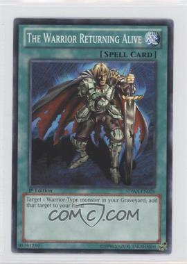 2012 Yu-Gi-Oh! Samurai Warlords - Structure Deck [Base] - 1st Edition #SDWA-EN026 - The Warrior Returning Alive