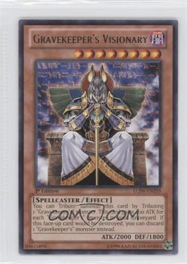 2013 Yu-Gi-Oh! Legendary Collection 4: Joey's World - Mega-Pack [Base] - 1st Edition #LCJW-EN259 - Gravekeeper's Visionary