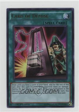 2016 Yu-Gi-Oh! Millenium Pack 1 - [Base] - 1st Edition #MIL1-EN014 - Card of Demise
