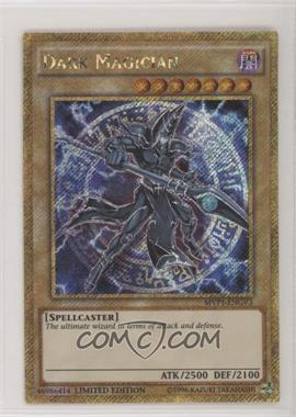 2016 Yu-Gi-Oh! The Dark Side of Dimensions - Movie Pack [Base] - Gold Edition 1st Edition #MVP1-ENGV3 - Dark Magician (Limited Edition)
